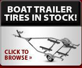 Boat trailer tires in stock!