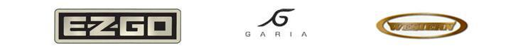 We carry products from EZ-GO, Garia and Western.