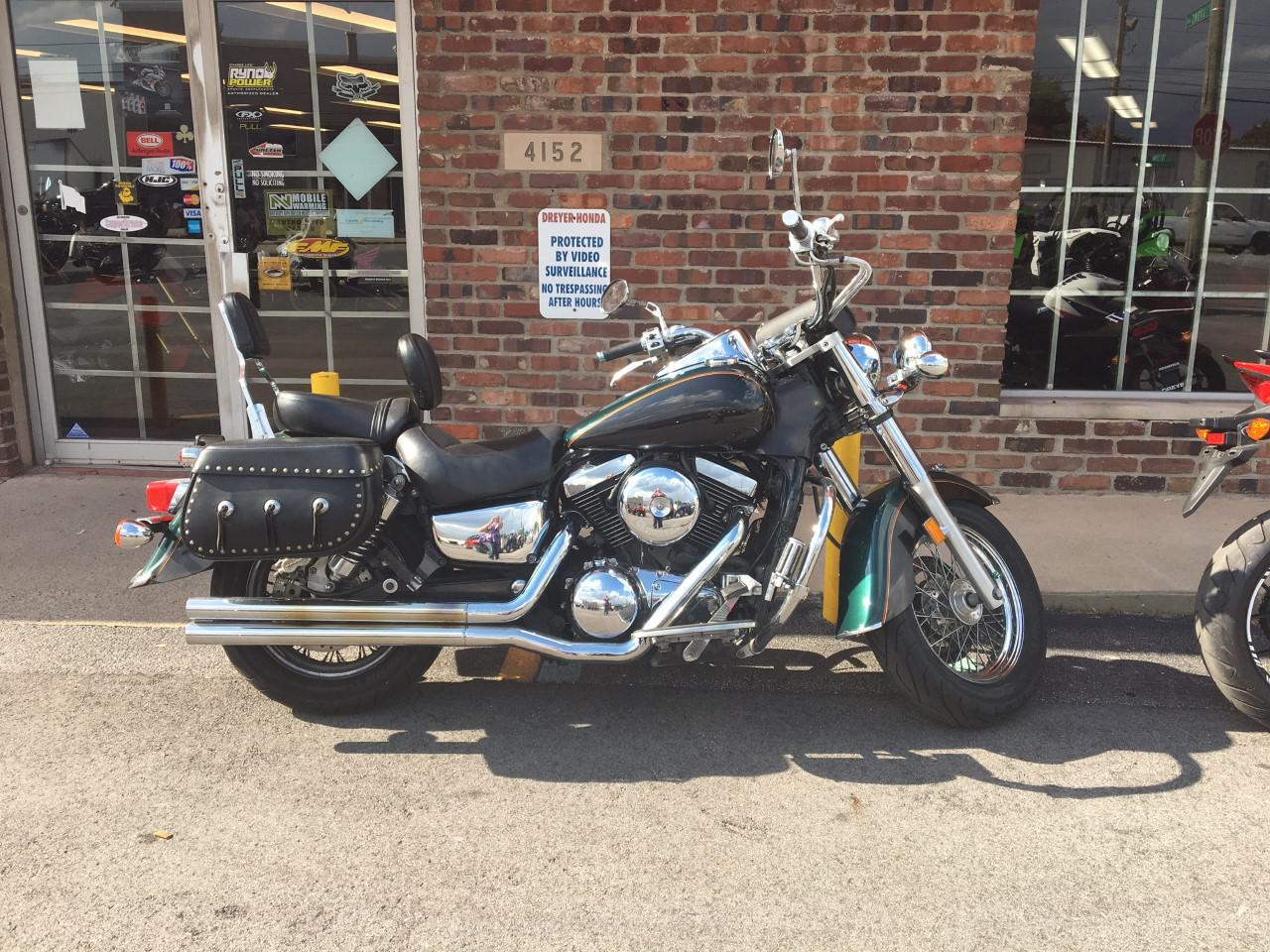 2002 kawasaki vn1500 classic for sale in indianapolis, in | dreyer