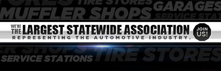 We're the largest statewide association representing the automotive industry.
