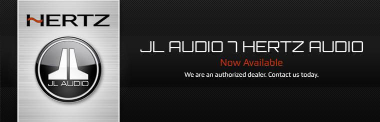 JL Audio 7 Hertz Audio Now Available: Contact us today.