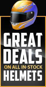 Great deals on all in-stock helmets!