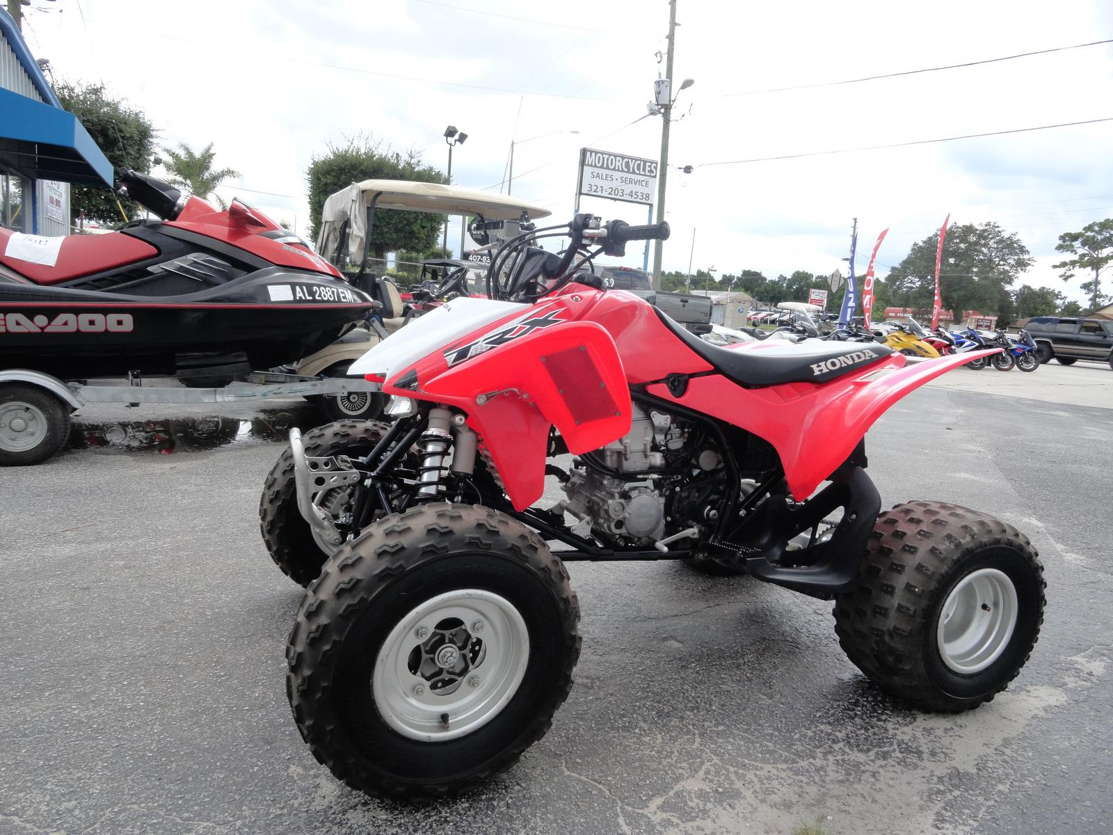 Trx450r Top Speed