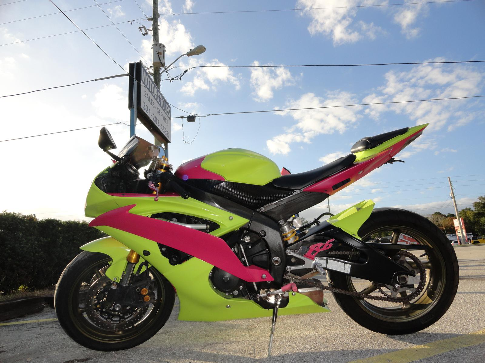 2008 yamaha yzf r6 for sale in longwood fl prime motorcycles