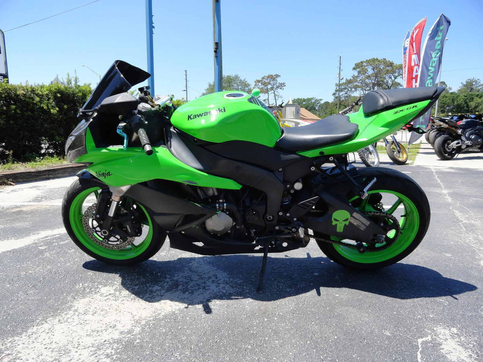 2009 Kawasaki Ninja Zx 6r For Sale In Longwood Fl Prime 300 Tarmac Full Exhaust System Carbon Fiber Dsc05683