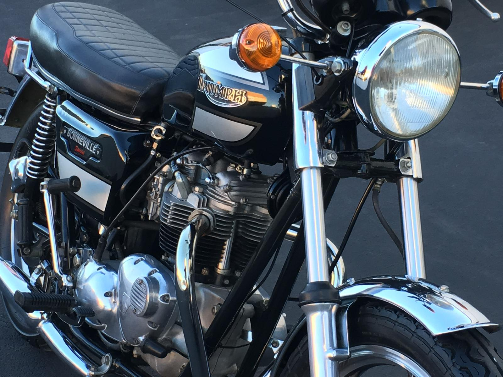 1979 Triumph Bonneville Special For Sale In Windsor Ca Euro Cycle