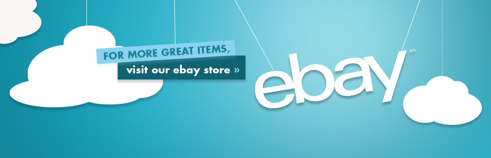 For more great items, visit our eBay store!