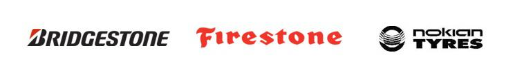 We proudly carry products from Bridgestone, Firestone, and Nokian.
