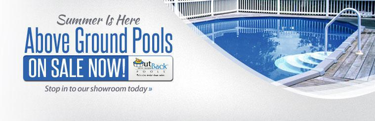 Summer is here, and above ground pools are on sale now! Click here to contact us for more information.