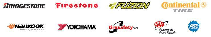 We proudly carry Bridgestone, Firestone, Fuzion, Continental, Hankook, and Yokohama products. We are affiliated with TireSafety.com. We are an AAA approved auto repair facility. Our technicians are ASE certified.