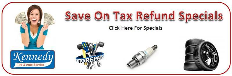Tax Refund Specials