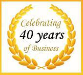 Celebrating 40 Years of Business