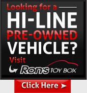 Looking for a hi-line pre-owned vehicle? Visit Ron's Toy Box!