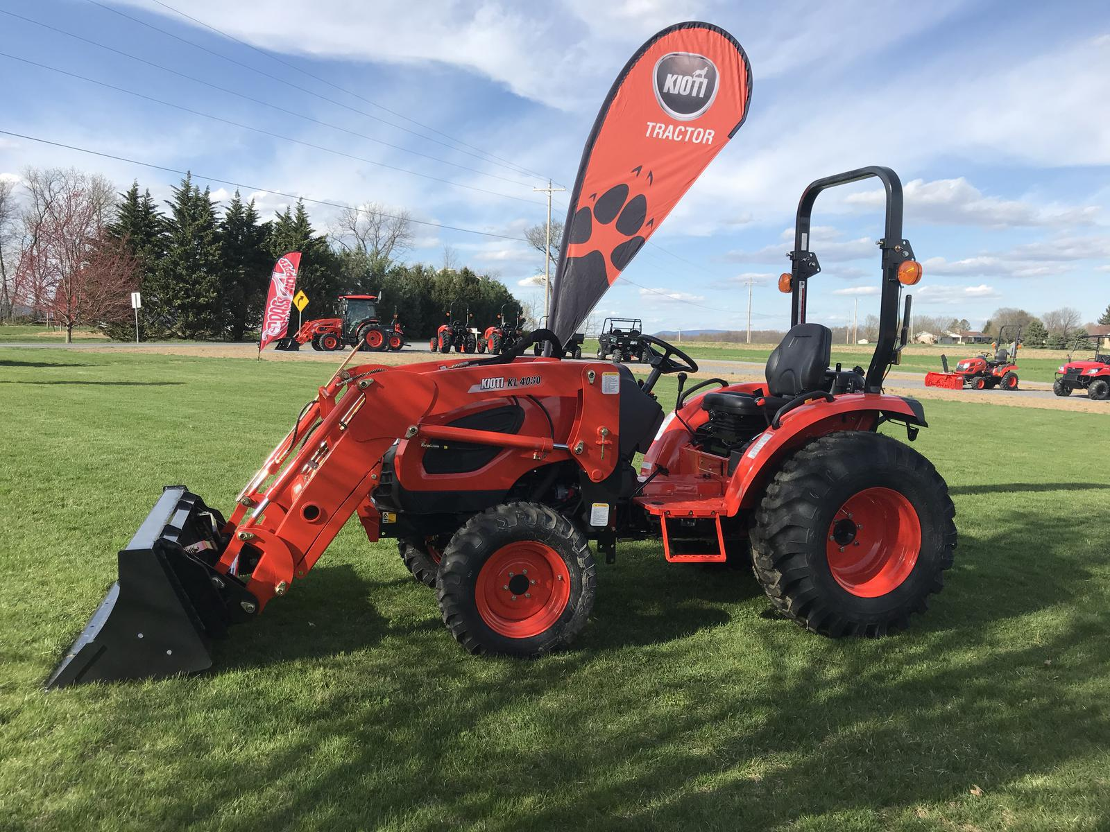 Agricultural Tractors from KIOTI Nolt's Power Equipment LLC