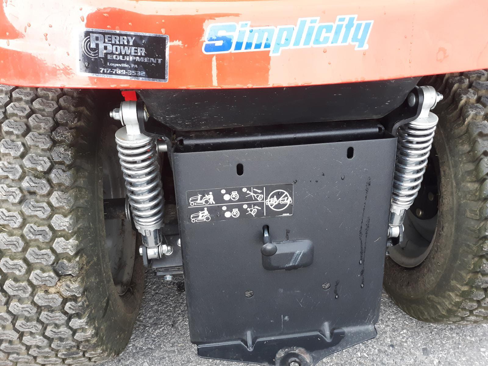 Simplicity Prestige Battery