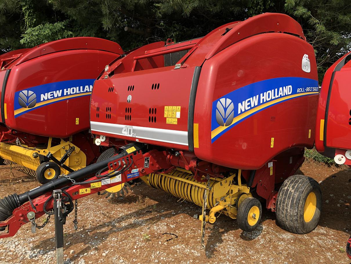 2015 New Holland Agriculture Roll-Belt™ 560