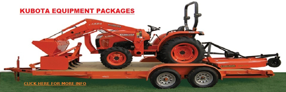 Kubota Equipment Packages