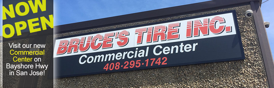 Bruce's Tire Commercial Truck & Fleet Tire and Service Center - Old Bayshore- San Jose
