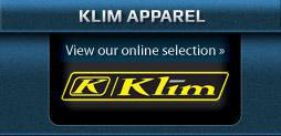 Klim Apparel: View our online selection.