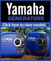 Yamaha generators – Click here to view models