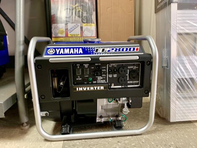 2018 Yamaha EF2800i