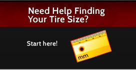 Need help finding your tire size? Start here!