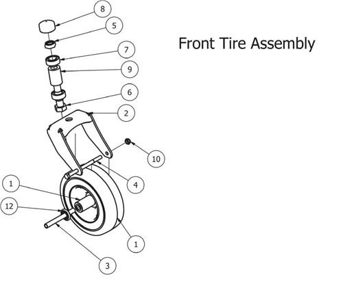 Bad Boy Mz Frt Wheel Assembly For Sale In Macclenny Fl
