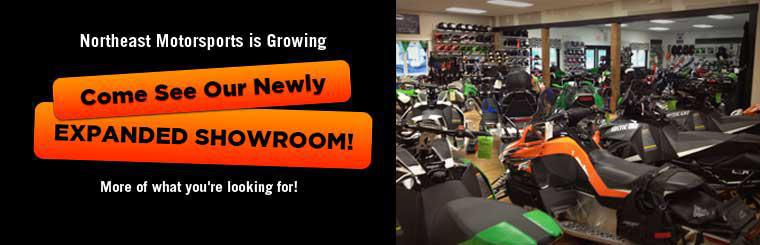Northeast Motorsports is growing! Come and see our newly expanded showroom!