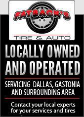 Locally Owned and Operated – servicing  Dallas, Gastonia and surrounding area. Contact your local experts for your services and tires.