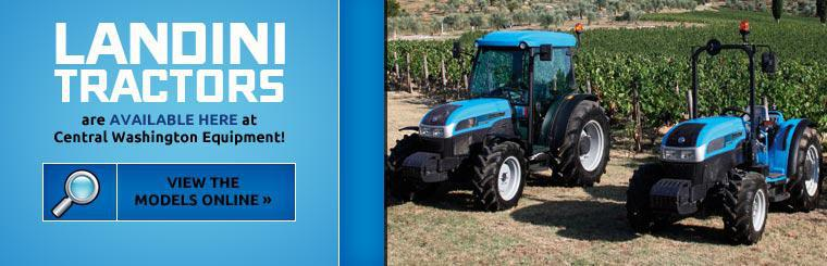 Landini tractors are available at Central Washington Equipment! Click here to view the models online.