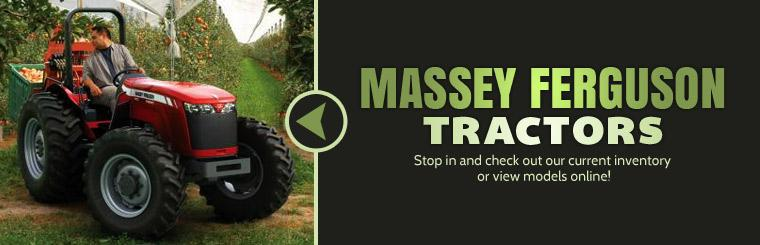 Massey Ferguson Tractors: Stop in and check out our current inventory or click here to view models online!