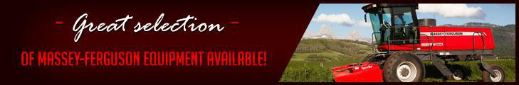 Great selection of Massey-Ferguson equipment available!