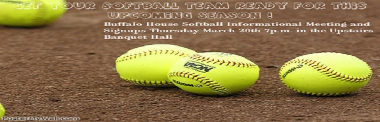 Softball Leagues Registration