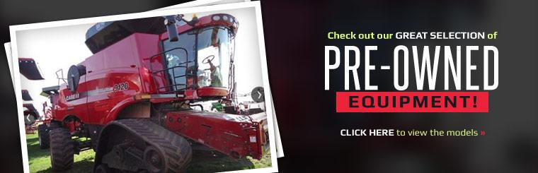 Check out our great selection of pre-owned equipment! Click here to view the models.