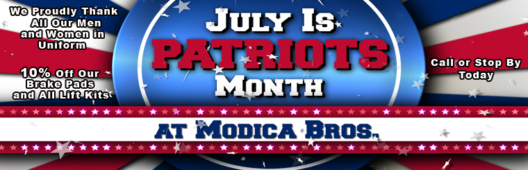 Modica Bros Patriot Month