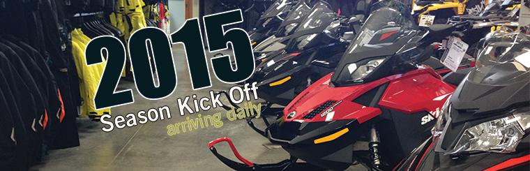 2015 Ski-Doo Arriving Daily