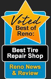 Voted Best of Reno: Best Tire Repair Shop!
