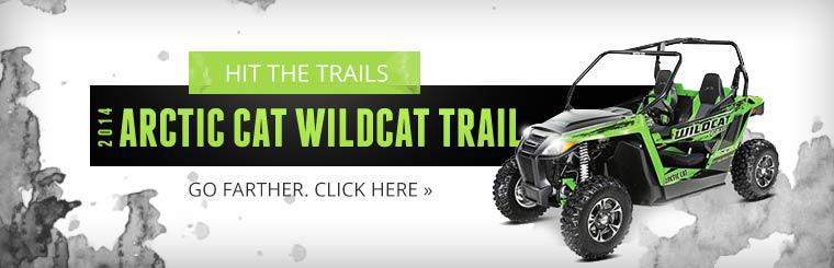 Click here to view the 2014 Arctic Cat Wildcat Trail.