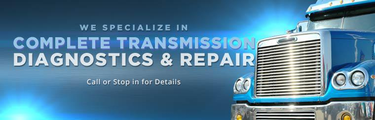 We specialize in complete transmission diagnostics and repair. Click here to contact us for details.