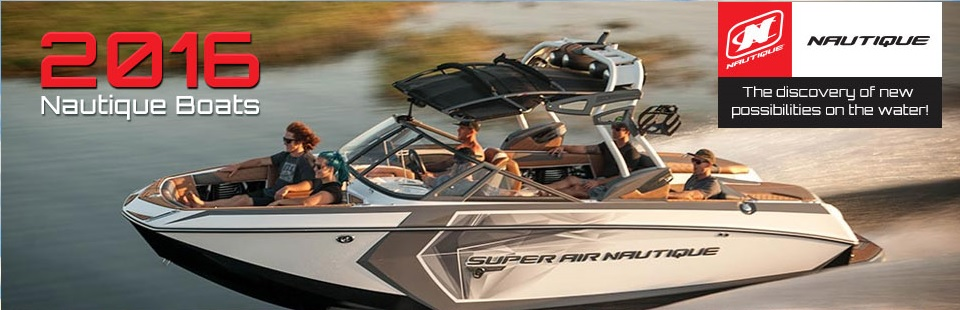 2016 Nautique Boats: Click here to view our selection.