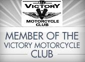 Member of the Victory Motorcycle Club