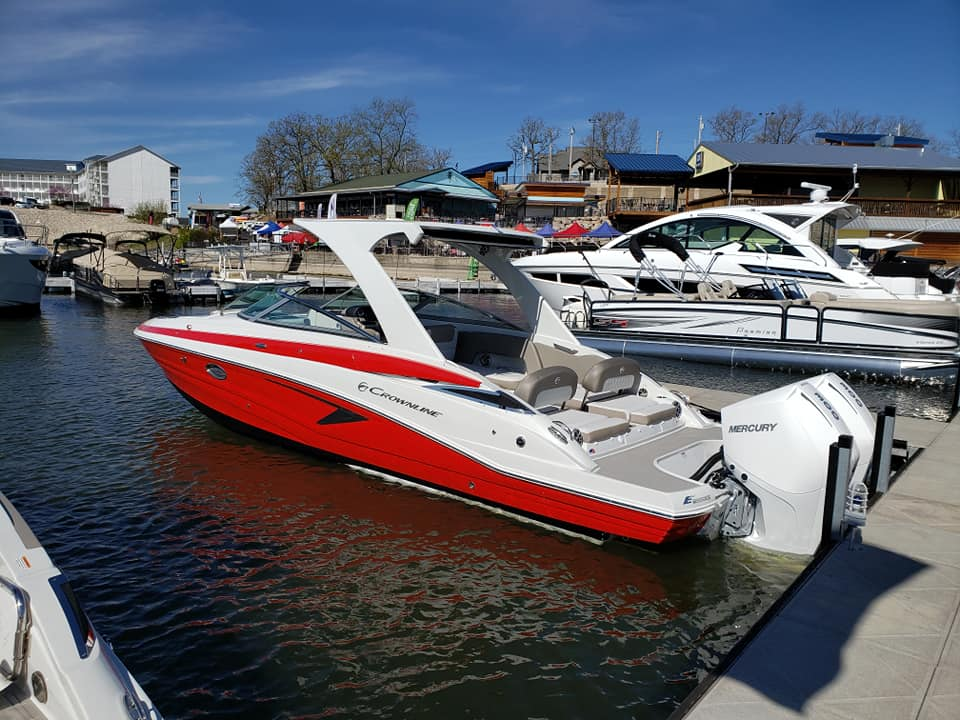 Inventory from Crownline and Mercury Marine All About Boats Showroom