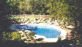 Custom Inground Pools inground pools | custom pool | lazy l pool | steel wall pool