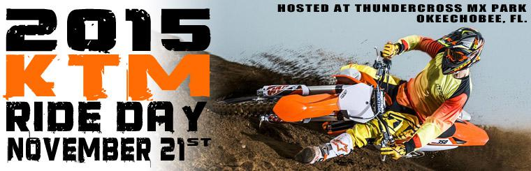 KTM Ride Day 2014 - Thundercross MX