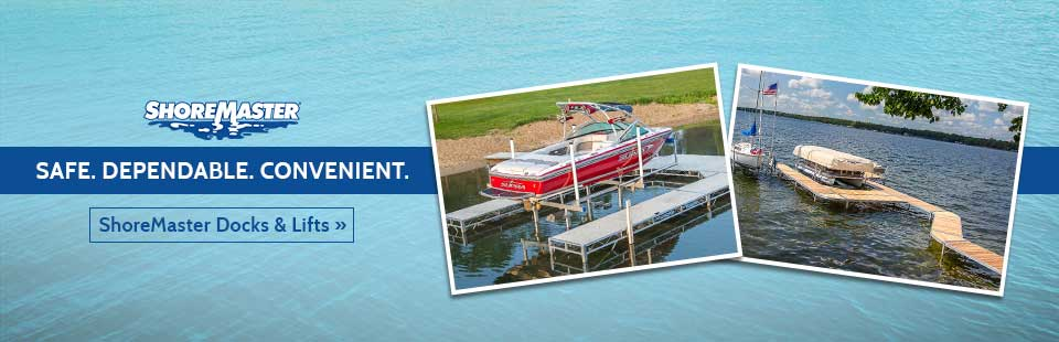 ShoreMaster docks and lifts are safe, dependable, and convenient.