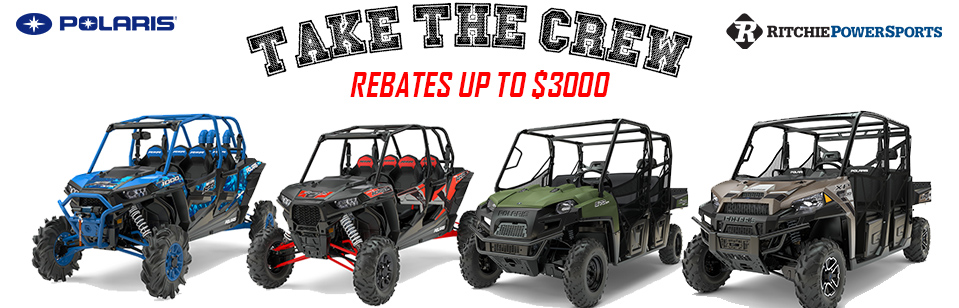 Rebates on Polaris Crew Machines