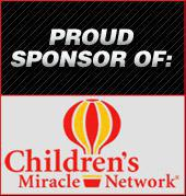 Proud Sponsor of Children's Miracle Network