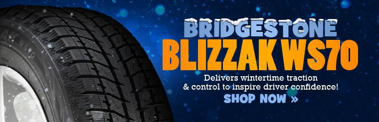 Bridgestone Blizzak WS-70 Winter Tire