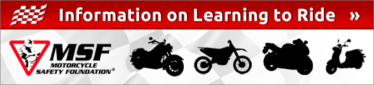 Click here for information on learning to ride.