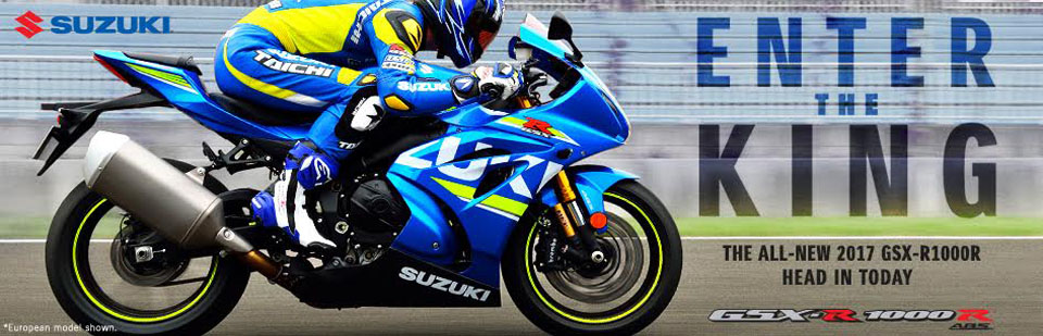 Check out the NEW 2017 GSXR1000-R NOW